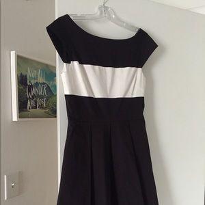 kate spade dress - classic black and white
